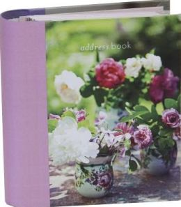 Peonies and Roses Mini Address Book