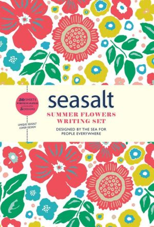 Seasalt Summer Flowers Writing Set 30 Sheets and Envelopes