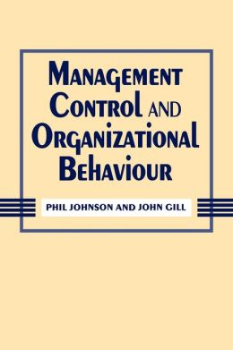 Management Control And Organizational Behaviour