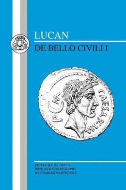 Lucan: Bello Civili I