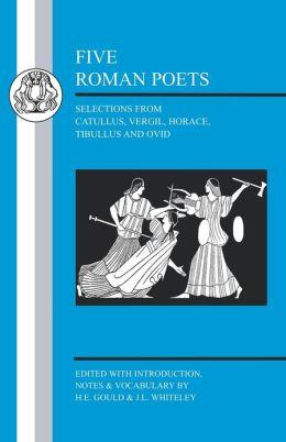 Five Roman Poets
