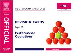 CIMA Revision Cards Performance Operations