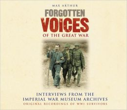 Forgotten Voices of the Great War Audio Box Set