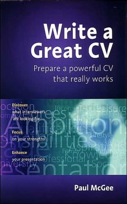Write a Great CV