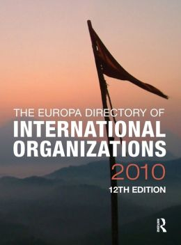 Europa Directory of International Organizations 2010