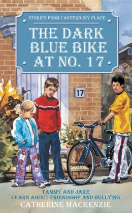 Dark Blue Bike At No.17