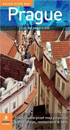 The Rough Guide to Prague Map 2