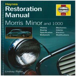 Haynes Restoration Manual Morris Minor and 100