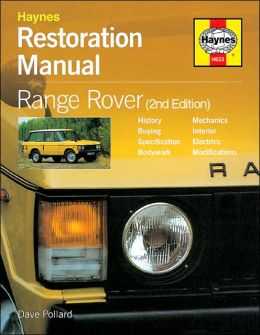 Restoration Manual Land Rover