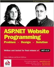 ASP.NET Website Programming: Problem - Design - Solution
