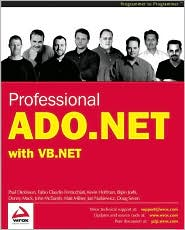 Professional ADO.NET Programming with VB.NET