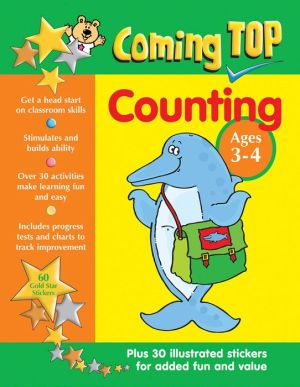 Coming Top Counting Ages 3-4: Get A Head Start On Classroom Skills - With Stickers!