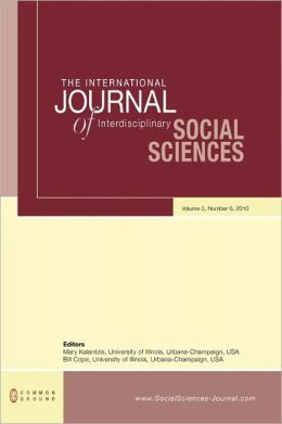 The International Journal Of Interdisciplinary Social Sciences