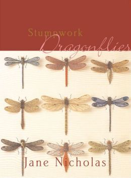 Stumpwork Dragonflies