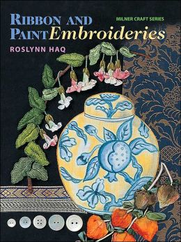 Ribbon and Paint Embroideries