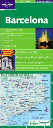 Lonely Planet Barcelona City Map (Lonely Planet City Maps Series)