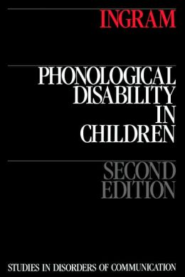 Phonological Disability in Children