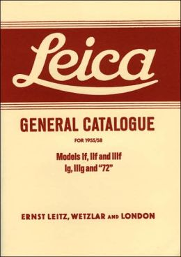 Leica General Catalogue for 1955-58