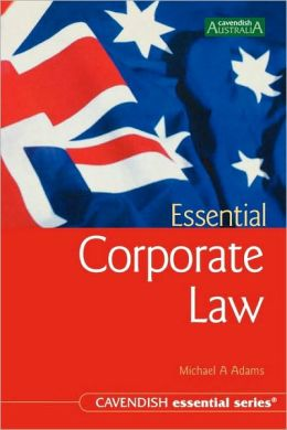 Australian Essential Corporate Law