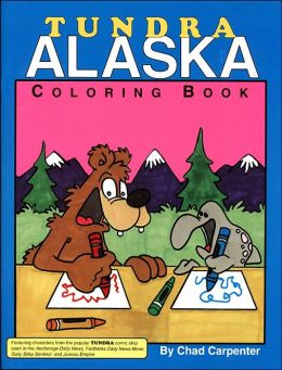 Tundra Alaska Coloring Book
