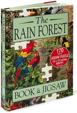 Rainforest with Book and Puzzle