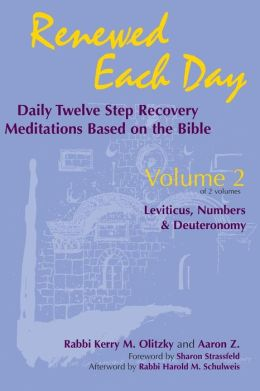 Renewed Each Day-Leviticus, Numbers & Deuteronomy: Daily Twelve Step Recovery Meditations Based on the Bible