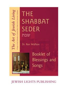 The Shabbat Seder Booklet of the Blessings and Songs