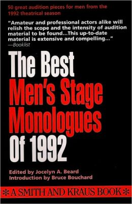 The Best Men's Stage Monologues of 1992