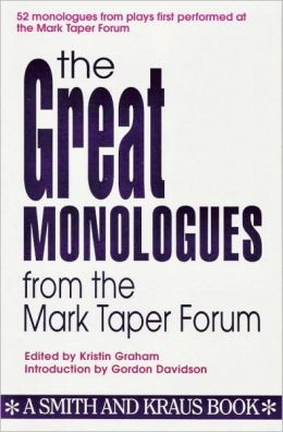 The Great Monologues from the Mark Taper Forum