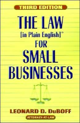 Law (in Plain English) for Small Businesses