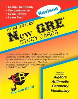 New GRE: Exambusters Study Cards