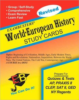 World -European History: Exambusters Study Cards