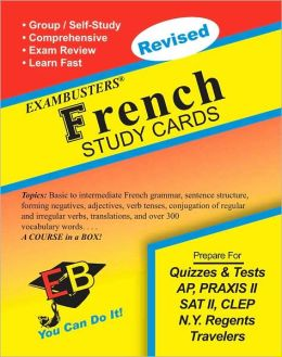 French: Exambusters Study Cards