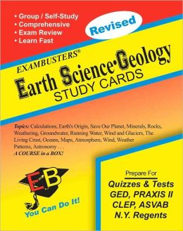 Earth Science-Geology: Exambusters Study Cards