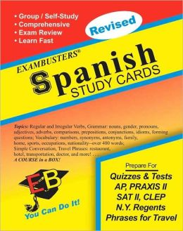 Spanish: Exambusters Study Cards