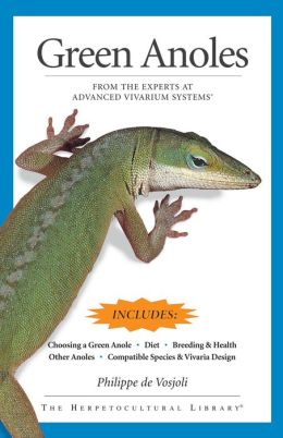 Care and Maintenance of Green Anoles