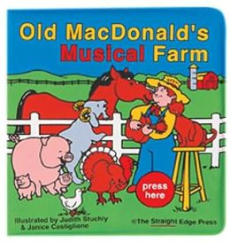Old MacDonald's Musical Farm Rub a Dub Book