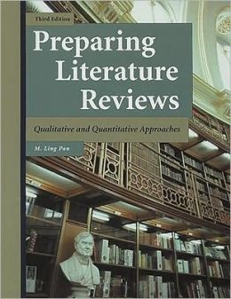 Preparing Literature Reviews : Qualitative and Quantitative Approaches