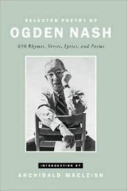 Selected Poetry of Ogden Nash