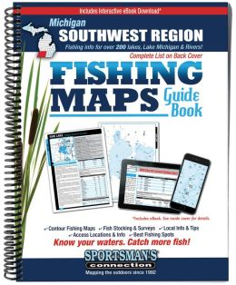 Southwest Michigan Fishing Map Guide