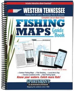 Tennessee Western Fish Map