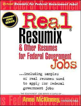 Real Resumix and Other Resumes for Government Jobs