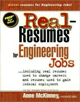 Real Resumes for Engineering Jobs
