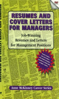 Resumes & Cover Letters for Managers