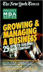 Growing & Managing A Business