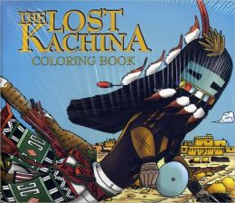 Lost Kachina Coloring Book