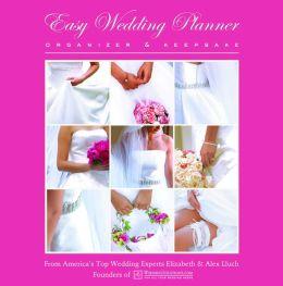 Easy Wedding Planner Organizer and Keepsake