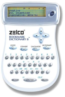 Zelco Electronic Bookmark Dictionary: Version II