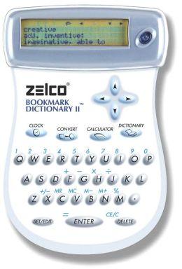 Zelco Electronic Bookmark Dictionary: Version II