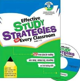 Effective Study Strategies for Every Classroom: Grades 7-12
